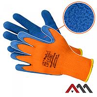 Перчатки защитные Artmas RdragBlue O Foam kat.1, оранжевый/синий, 9