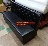 Диван Ренессанс с ящиком черный 1800х550х900мм, фото 3