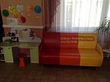 """Диван """"Светофор"""" для детской комнаты, садика, кафе с подлокотниками, фото 5"""