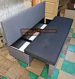 Диван для узкой и длинной комнаты с ящиком + спальным местом 1800х600х850мм, фото 7