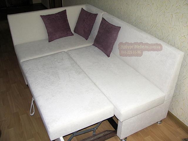 Кухонный уголок = кровать ткань ПЕРЛ-ВЕЛЮР