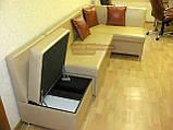 Кухонный уголок = кровать ткань + кресло с нишей, фото 4