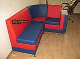 Красно-синий кухонный уголок с баром Престиж, фото 5