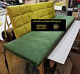 Комплект подушек для мебели из поддонов. ППУ 4см, фото 5