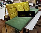 Комплект подушек для мебели из поддонов. ППУ 4см, фото 6