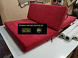 Комплект подушек для мебели из поддонов. ППУ 4см, фото 9