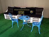 Комплект подушек для мебели из поддонов с прошивкой, фото 3