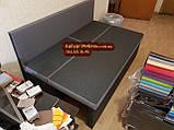 Диван для узкой и длинной комнаты с ящиком + спальным местом 1600х600х850мм, фото 7