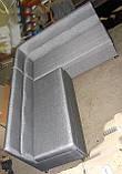 Кухонный уголок с рельефными спинками 1200*1800 раскладной, фото 5