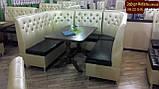 """Диваны для кафе секциями  """"Ренессанс""""  с высокой спинкой, фото 5"""