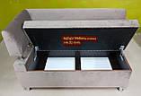 Диван для кухни Экстерн 1800х600х850мм антикот, фото 5