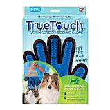 Массажная перчатка для собак true touch Перчатка для вычесывания кошек и собак и чистки животных, фото 6