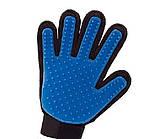 Массажная перчатка для собак true touch Перчатка для вычесывания кошек и собак и чистки животных, фото 7