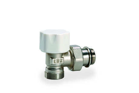"""Кран радиаторный термостатический угловой 1/2"""" o-ring  (с уплотнением) Tekna RS 209, фото 2"""