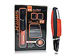 Бритва мужская электрическая с насадками X-Trim, Триммер MicroTouch Switchblade Red, Машинка для стрижки волос, фото 3