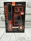 Бритва мужская электрическая с насадками X-Trim, Триммер MicroTouch Switchblade Red, Машинка для стрижки волос, фото 7