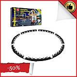 Массажный обруч халахуп Massaging Hoop Exerciser Professional Bradex с магнитами Обруч спортивный  АМ 282, фото 2