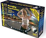 Массажный обруч халахуп Massaging Hoop Exerciser Professional Bradex с магнитами Обруч спортивный  АМ 282, фото 9