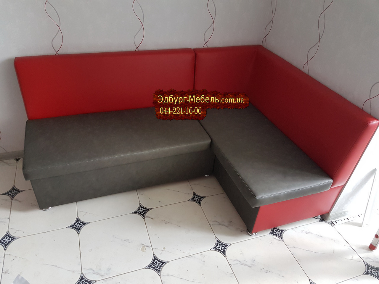 Кухонный уголок со спальным местом для большой семьи