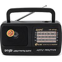 Радиоприемник KIPO Радио KB 409 AC Fm радиоприемник от сети и батареек Fm радио
