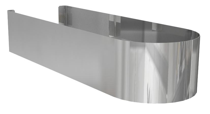 Domino Декоративний сталевий кожух 35 cm