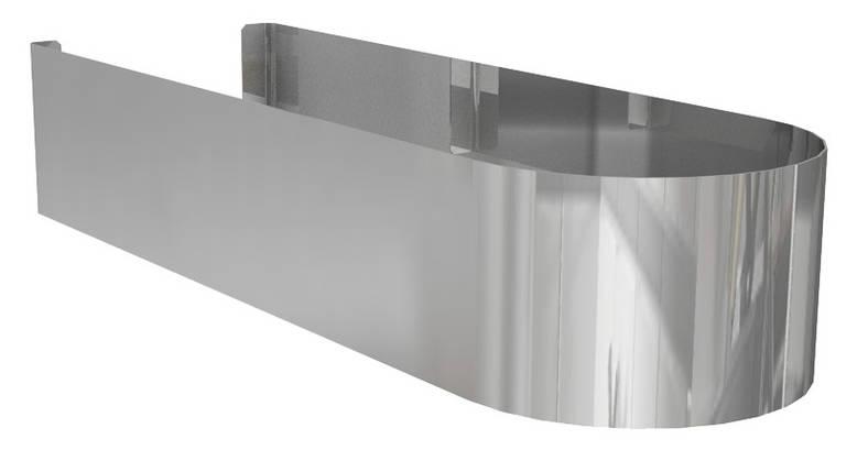Domino Декоративний сталевий кожух 35 cm, фото 2