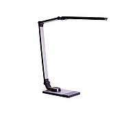 Z-Light Светильник настольный 10W светодиодный плоский складной серый ZL 50033
