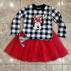 Стильний костюм для дівчинки 3-7 років