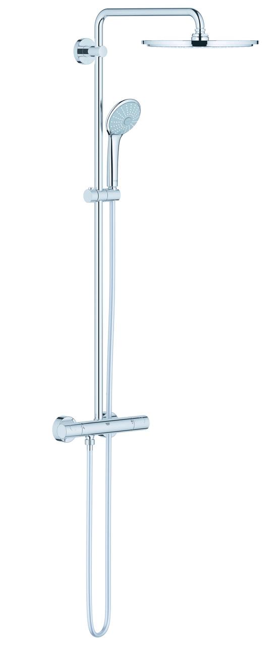 Euphoria XXL System 310 Душевая система с термостатом для настенного монтажа