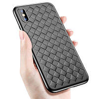 Силиконовый чехол XD Case Bottega Veneta для iPhone X, Xs Black