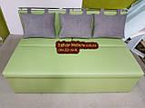 Диван для узкой комнаты с ящиком + спальным местом 1800х500х870мм, фото 5