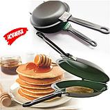 Двухсторонняя сковорода для приготовления блинов и панкейков Ceramic Non Stick Pancake Maker | блинница, фото 2