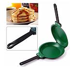 Двухсторонняя сковорода для приготовления блинов и панкейков Ceramic Non Stick Pancake Maker | блинница, фото 5