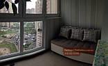 """Диван для кухни, лоджии, балкона """"Комфорт"""" рогожка 1100х500мм, фото 3"""