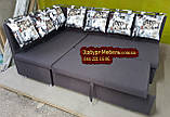 Кухонный уголок с подушками в рисунок, фото 2