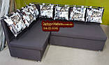Кухонный уголок с подушками в рисунок, фото 4