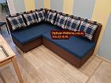 Кухонный уголок с подушками в рисунок, фото 6