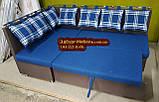 Кухонный уголок с подушками в рисунок, фото 8