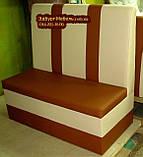 Высокий диван для кафе Пражский торт, фото 2