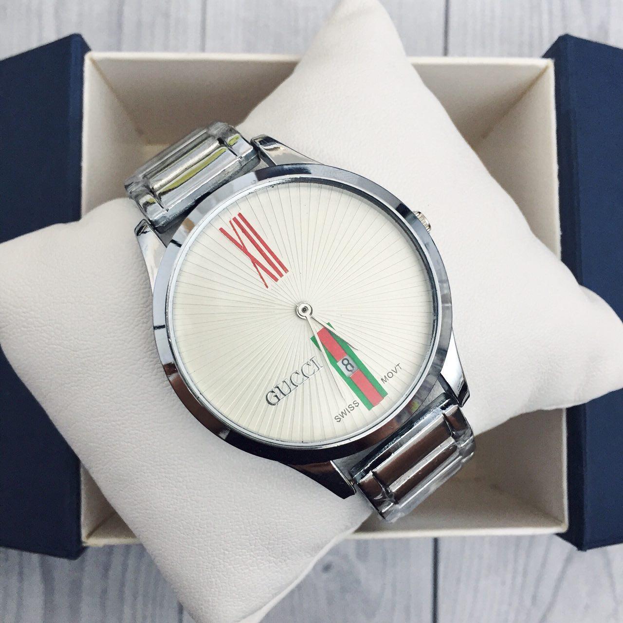 Gucci 9201 Silver-White
