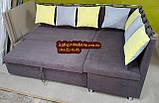 Кухонный уголок со спальным местом трехцветный, фото 4