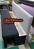 Диван для узкой и длинной комнаты с ящиком + спальным местом 1800х500х850мм, фото 2