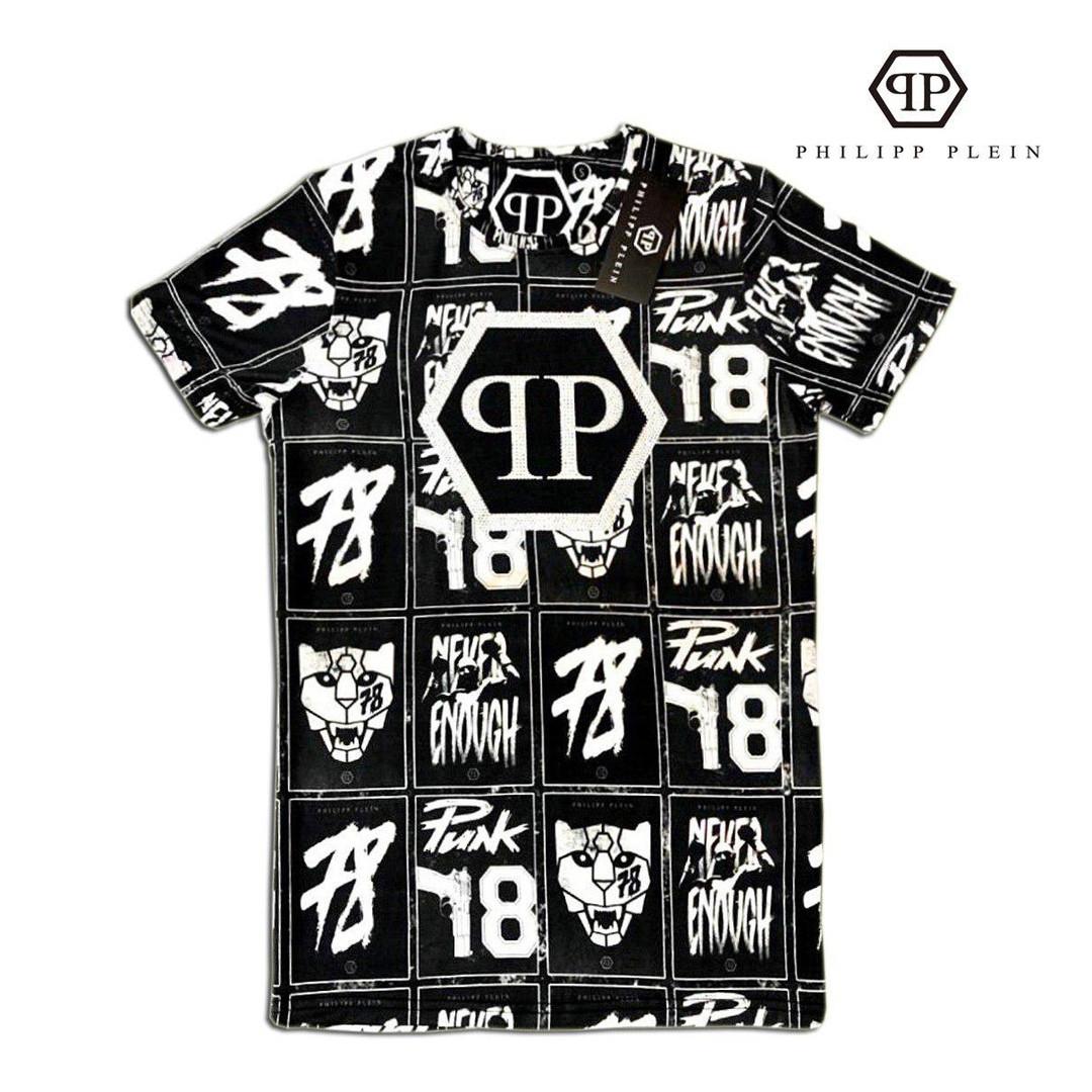 Мужская футболка. Реплика PHILIPP PLEIN Мужская одежда 48