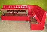 Кухонный диван Квадро 3 части 220х145см, фото 3