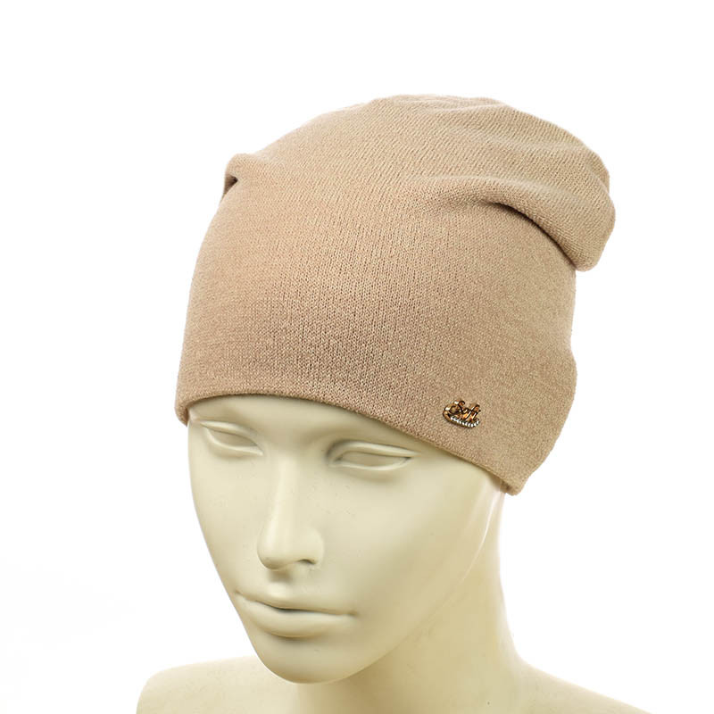 Трикотажная шапка  из ангорки