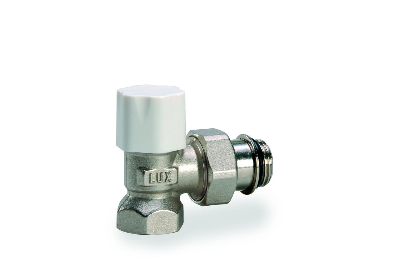 """Кран радиаторный термостатический угловой 1/2"""" o-ring  (с уплотнением)"""