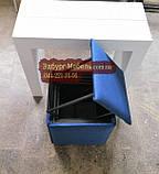 Пуф трансформер 5 в 1 рогожка синий, фото 2