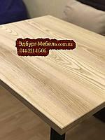 Столы на заказ Лофт (Loft) из массива дерева: 90х75 см