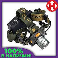 Фонарик налобный, Sensor Head Light светодиодный фонарик, Удобный, фонарь налобный аккумуляторный, фото 1