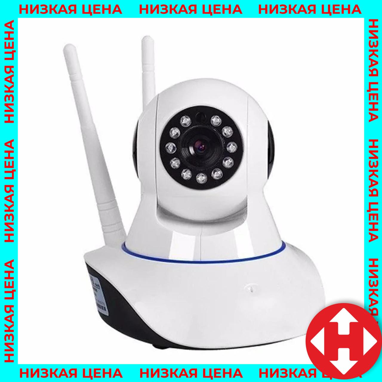 Ip камера видеонаблюдения для дома - вайфай поворотная ip камера беспроводная